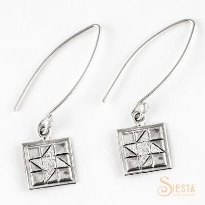 friendship star earrings