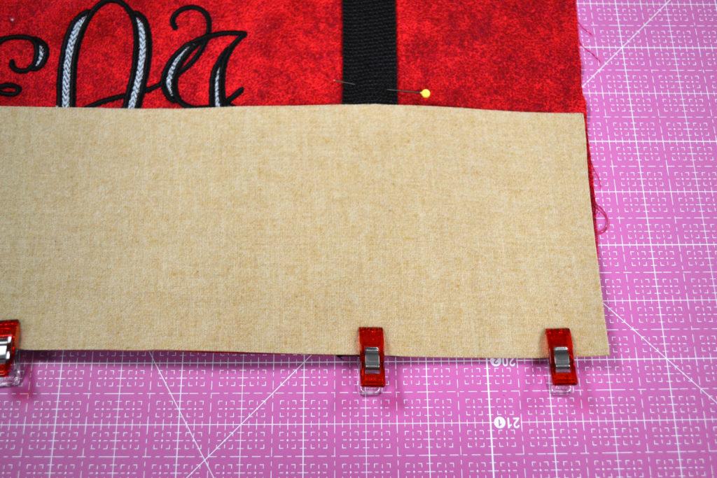 DIY Game-Day Monogrammed, Cork-Bottom Bag