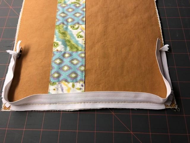 stitching zipper