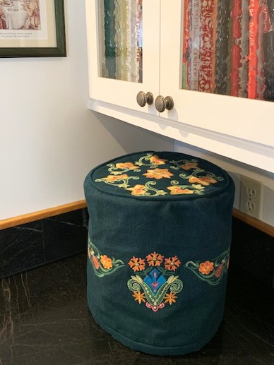 Wool Instant Pot Cover version with Embroidery