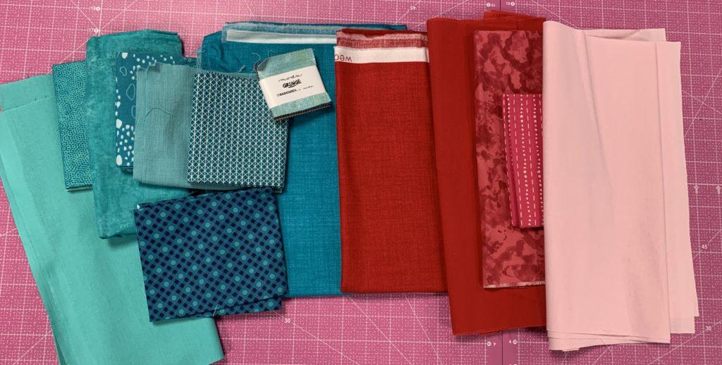 modern quilt design fabric choice