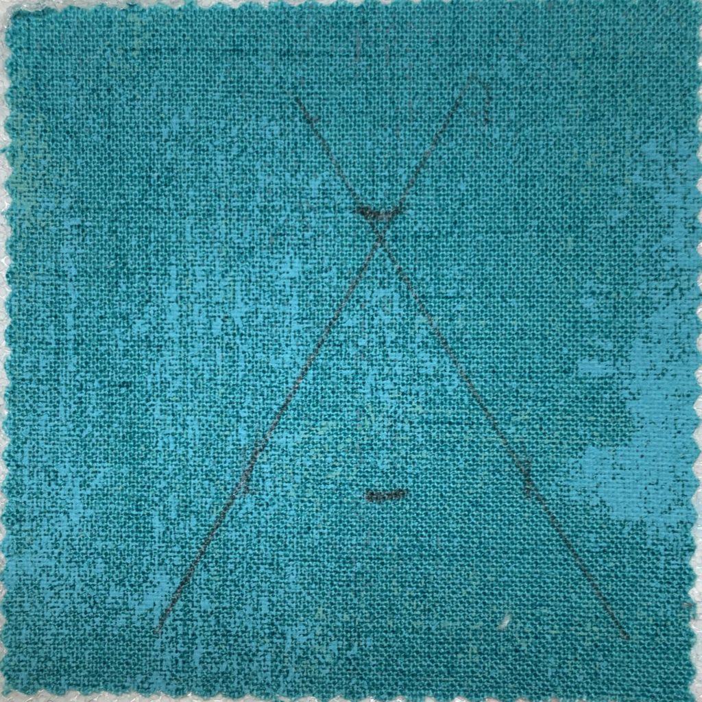modern quilt design finished triangle sides