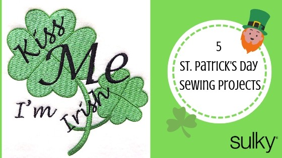 St Patrick's Day Sewing Projects