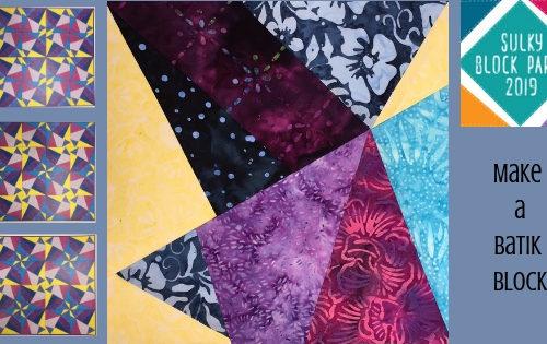 make a batik block