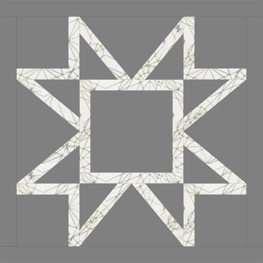 make a mandala quilt block