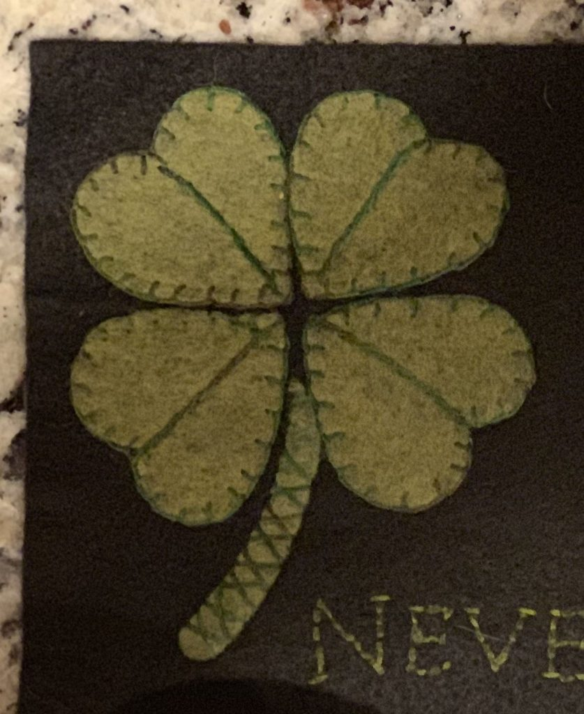 St Patricks Day Sewing Project