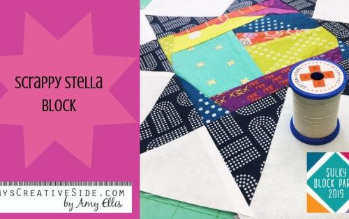 Amy Ellis Scrappy Stella Block