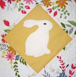 Bunny Quilt Block
