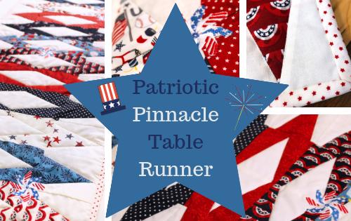 patriotic pinnacle table runner