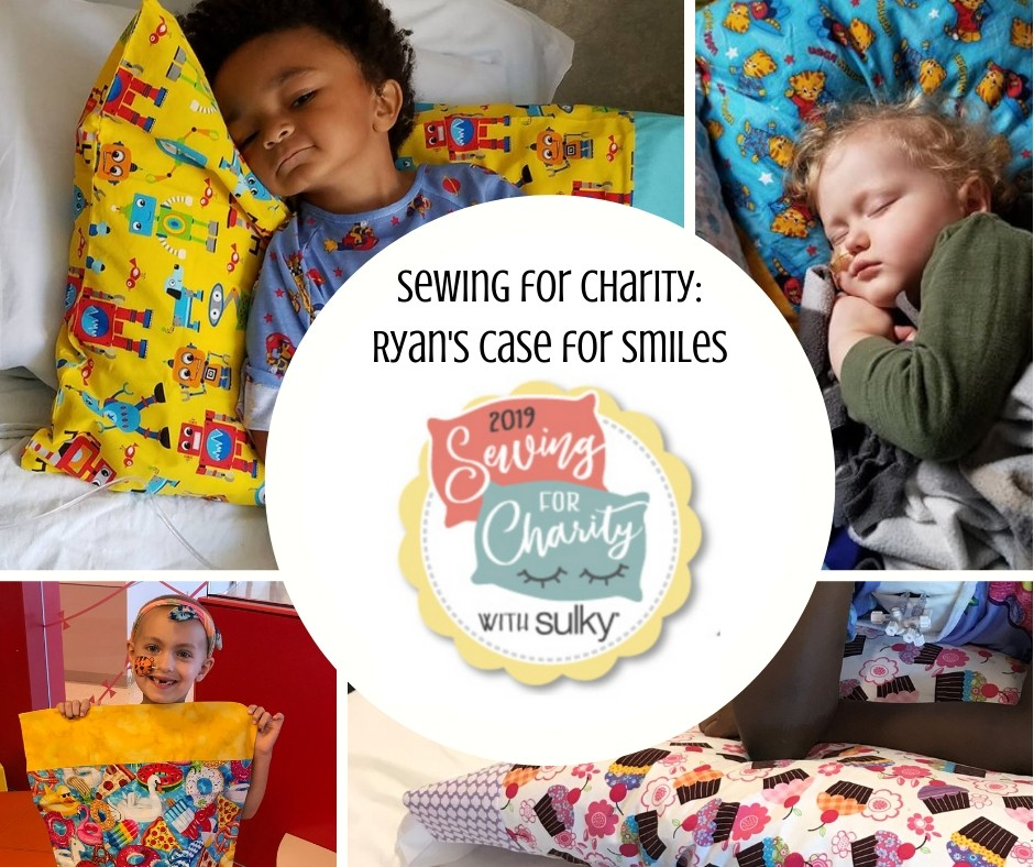sewing pillowcases for charity
