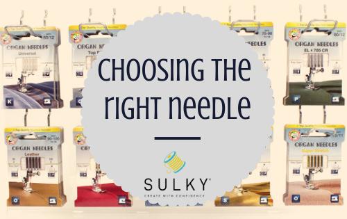 choosing the right needle