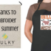 Summer Embroidery Projects