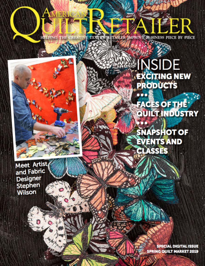 american quilt retailer cover