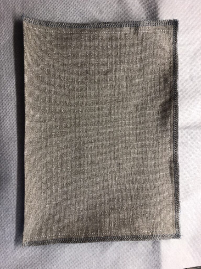 zipper lined pocket