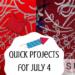 July 4 machine embroidery