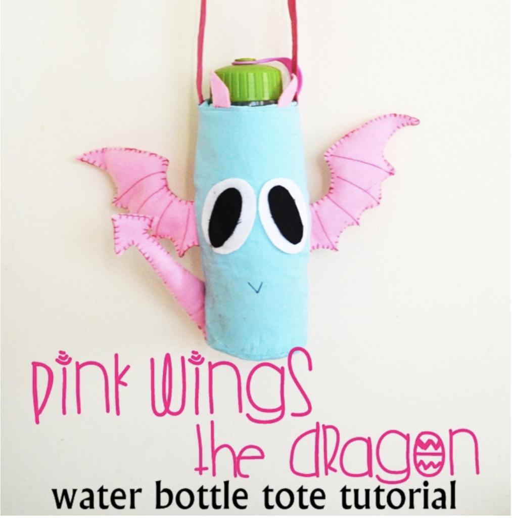 DIY school supplies water bottle