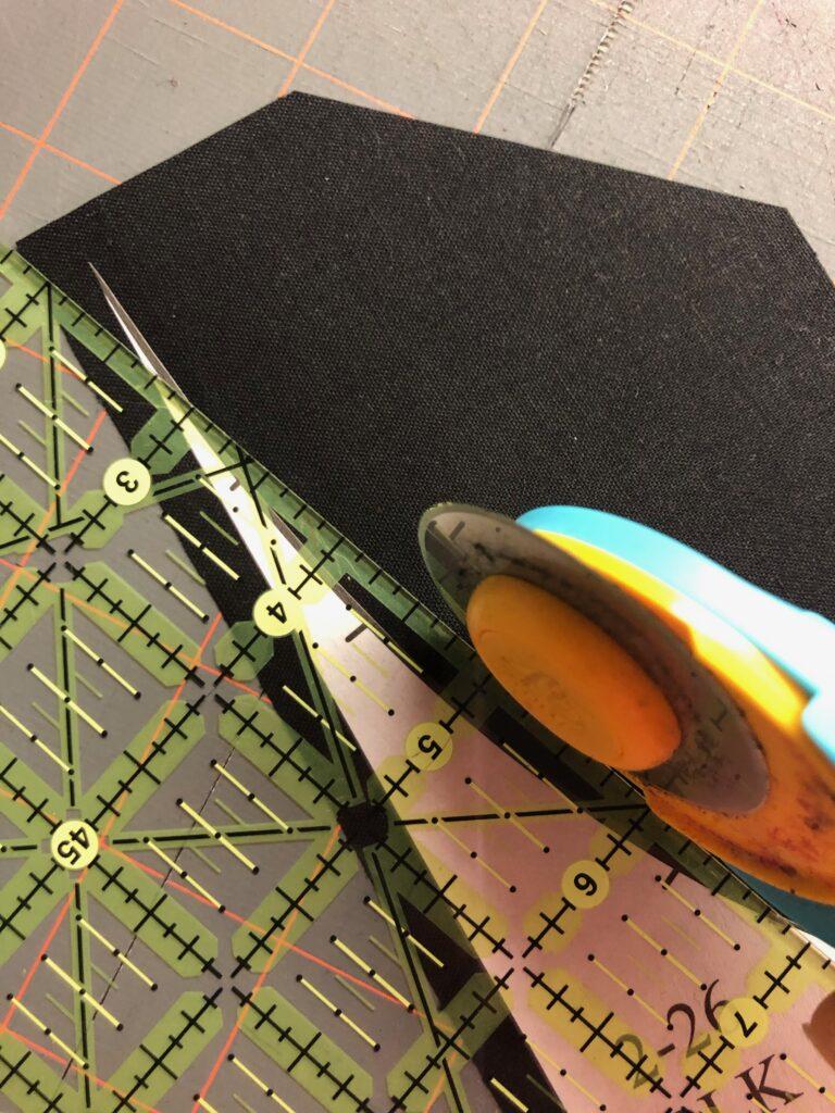August Birthstone Sew Along cutting