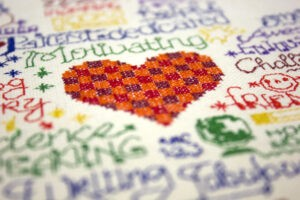 sulky journal cover hug a teacher embroidery design
