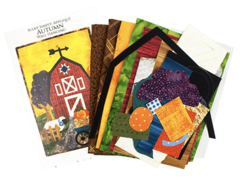 Fall Applique Mini Quilt Kit