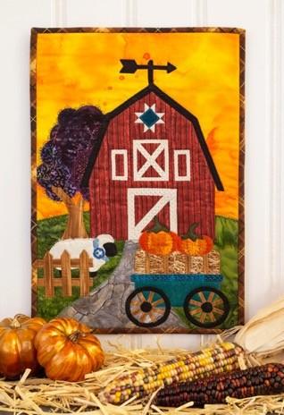 Fall themed Applique Mini Quilt