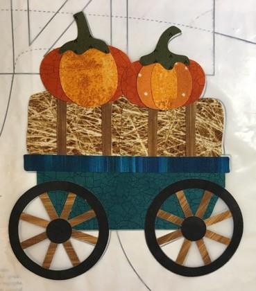 pumpkins & wagon