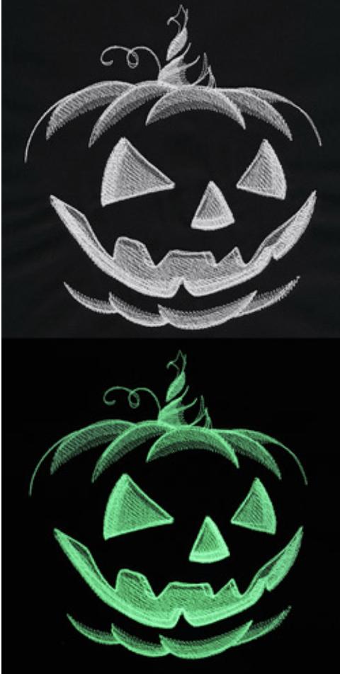Halloween glow design