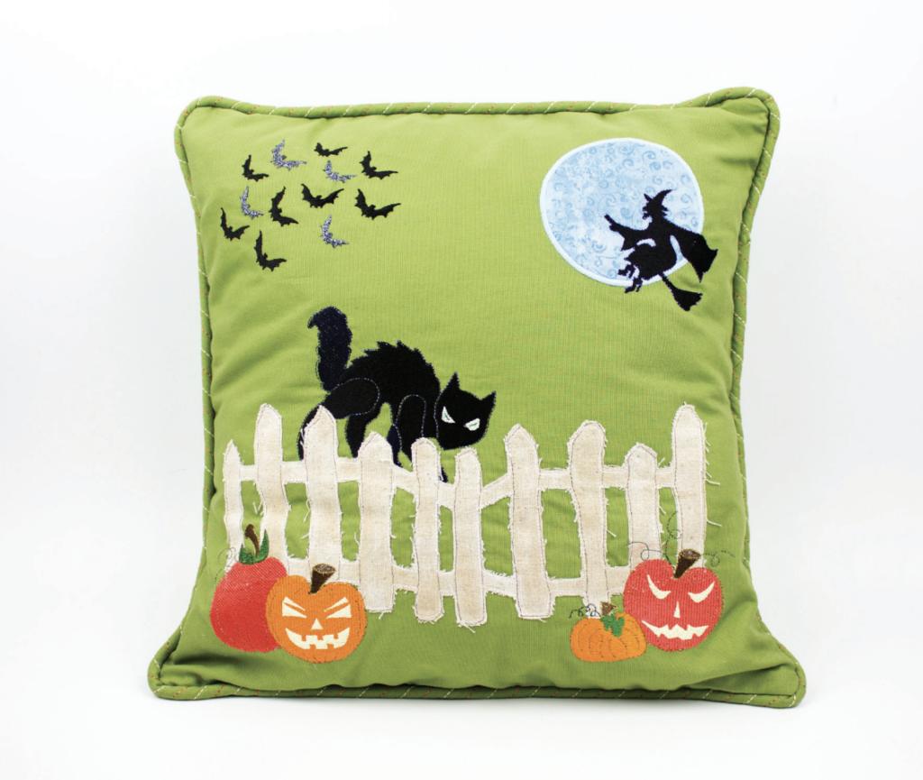 halloween decor pillow