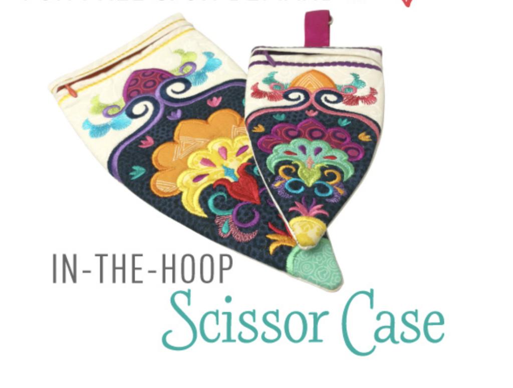 in the hoop scissor case