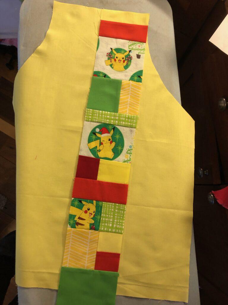 kid holiday apron