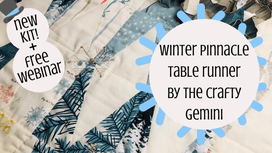 Winter Pinnacle Table Runner