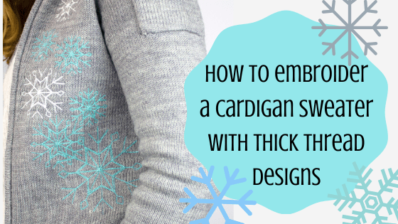cardigan sweater embroidery