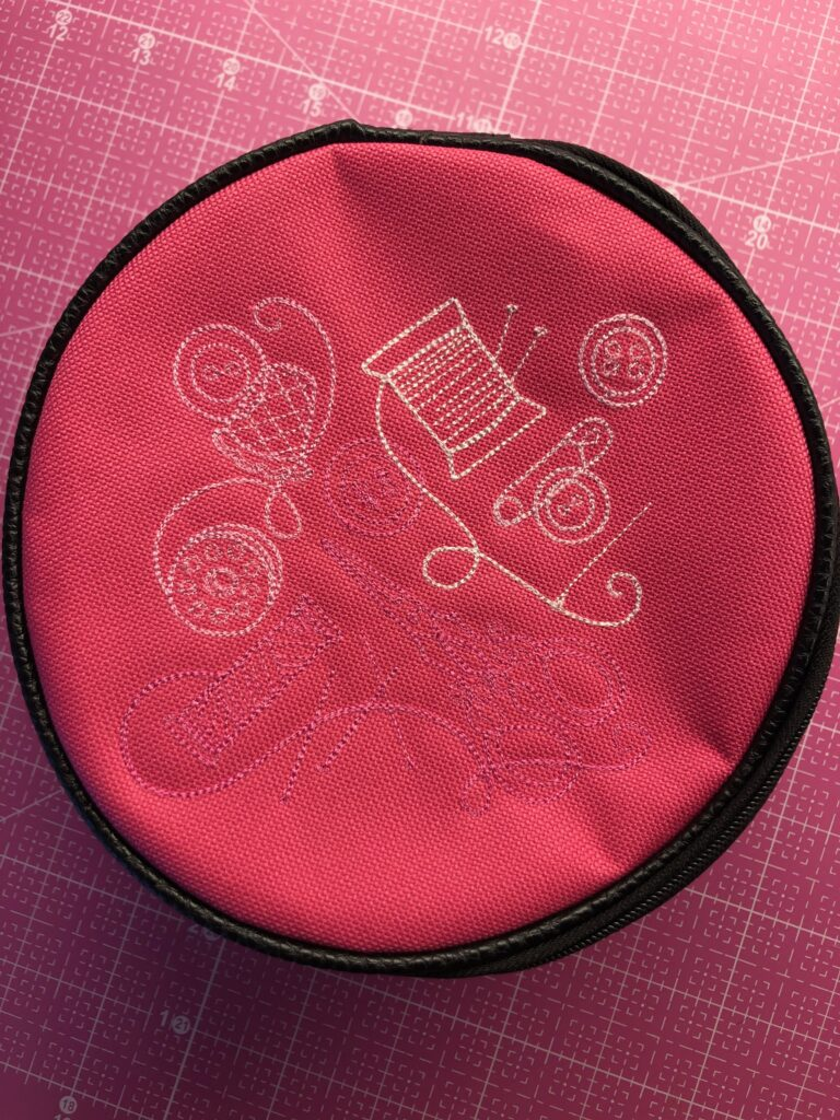 finished jewelry case lid