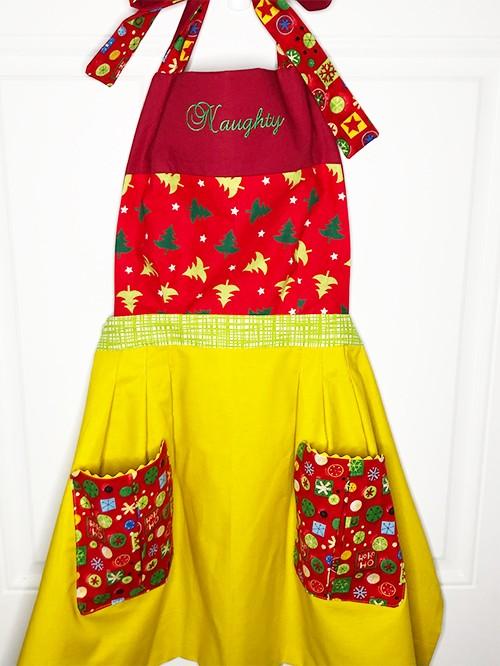 holiday apron
