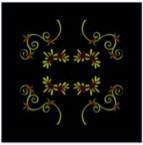 Embroidered Vevet