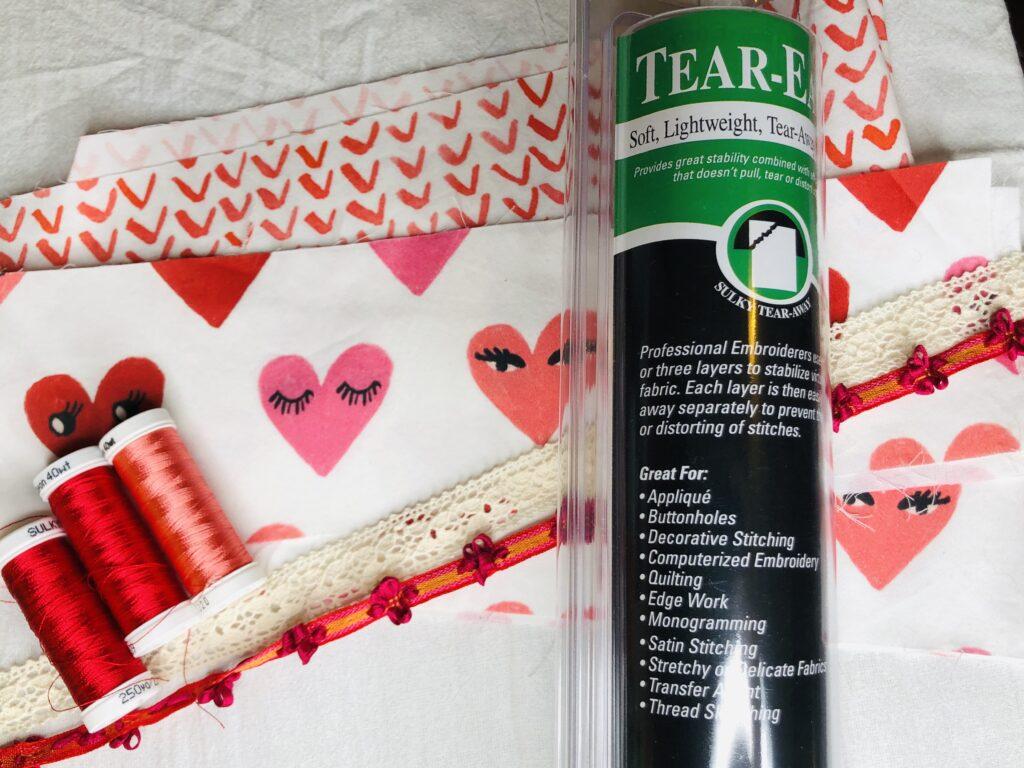 Trimmed Tea Towel supplies