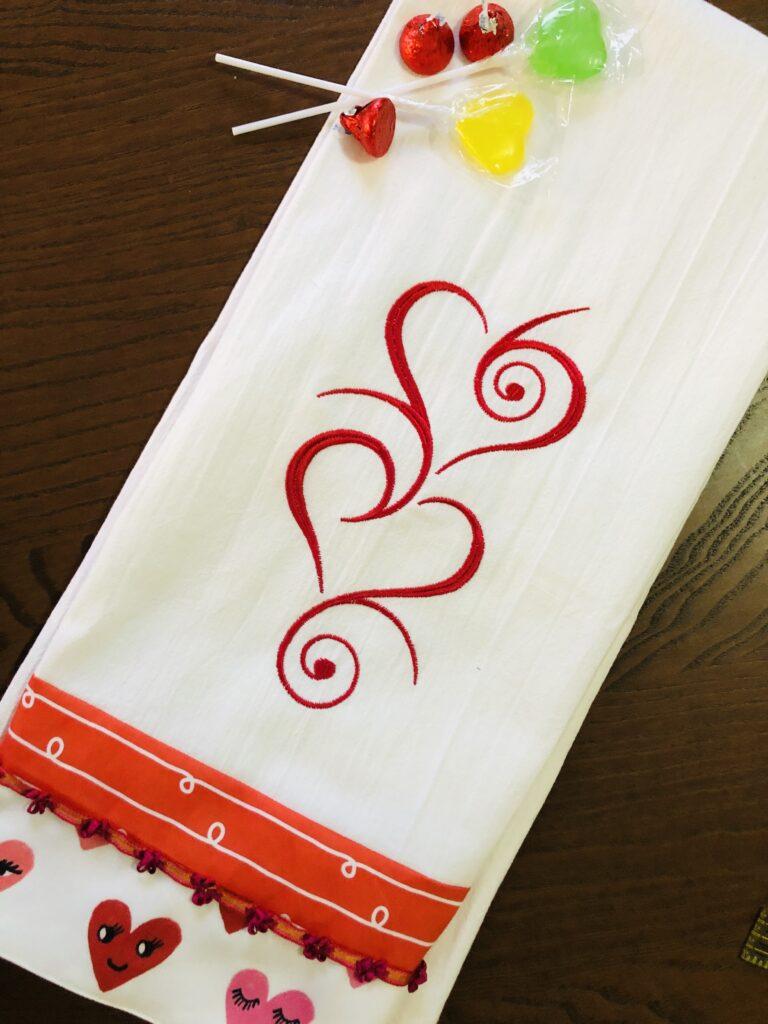 Trimmed Tea Towel