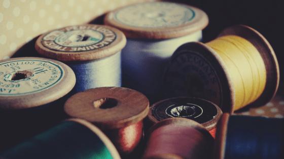 machine embroidery myth old thread