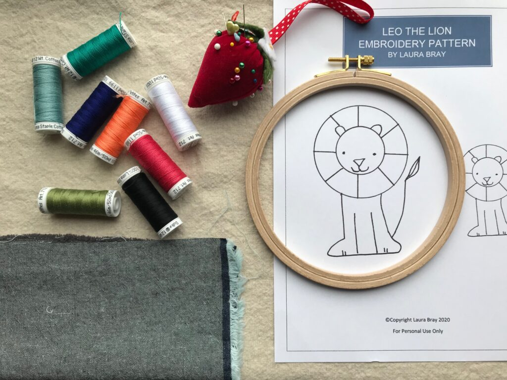 Hand Embroidery for Kids