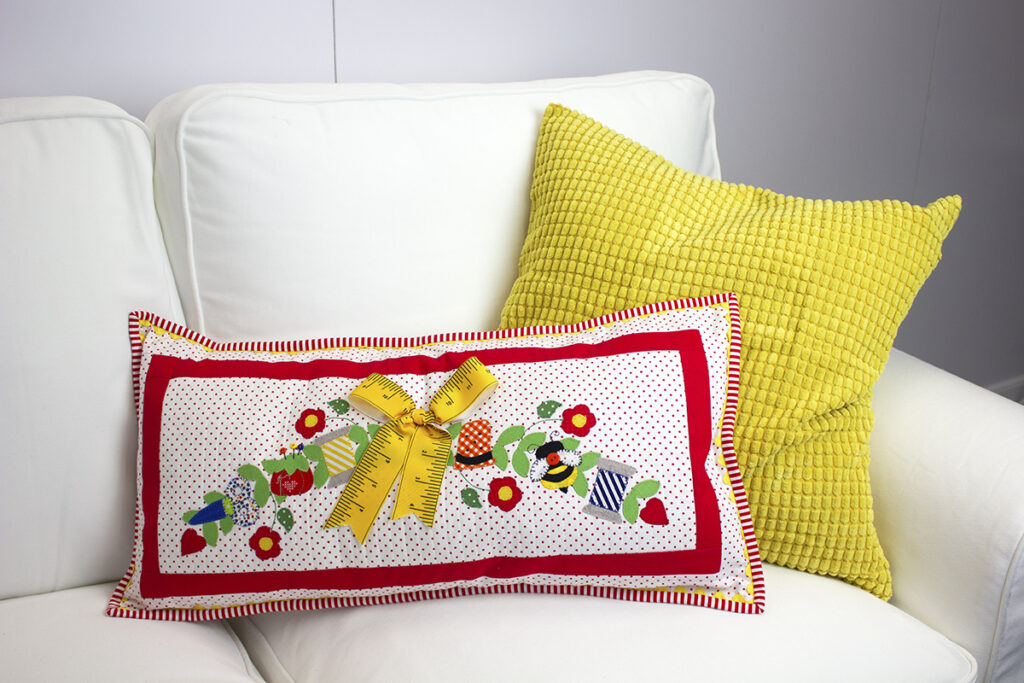 Stitches of Love Pillow