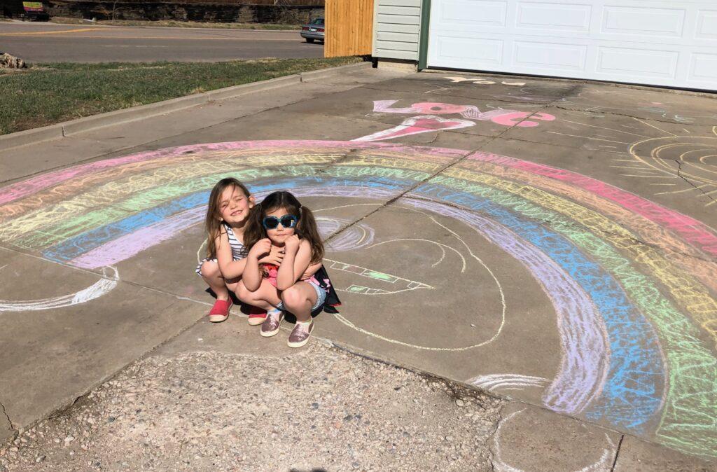 rainbows on display