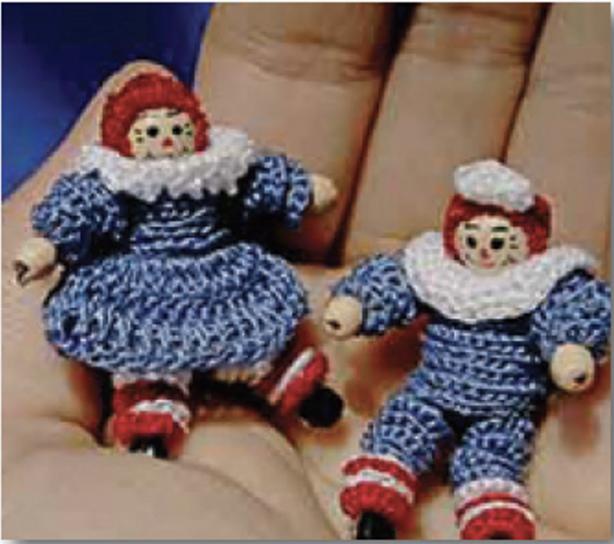 crochet with 12 wt cotton Petites