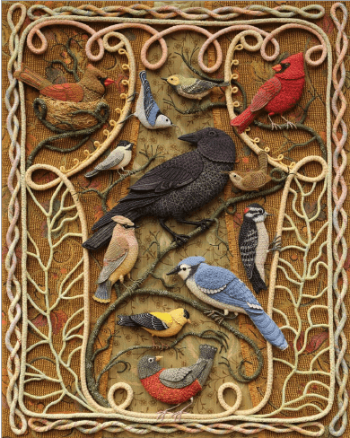 Birds of Bebe Woods by Sallie Mavor