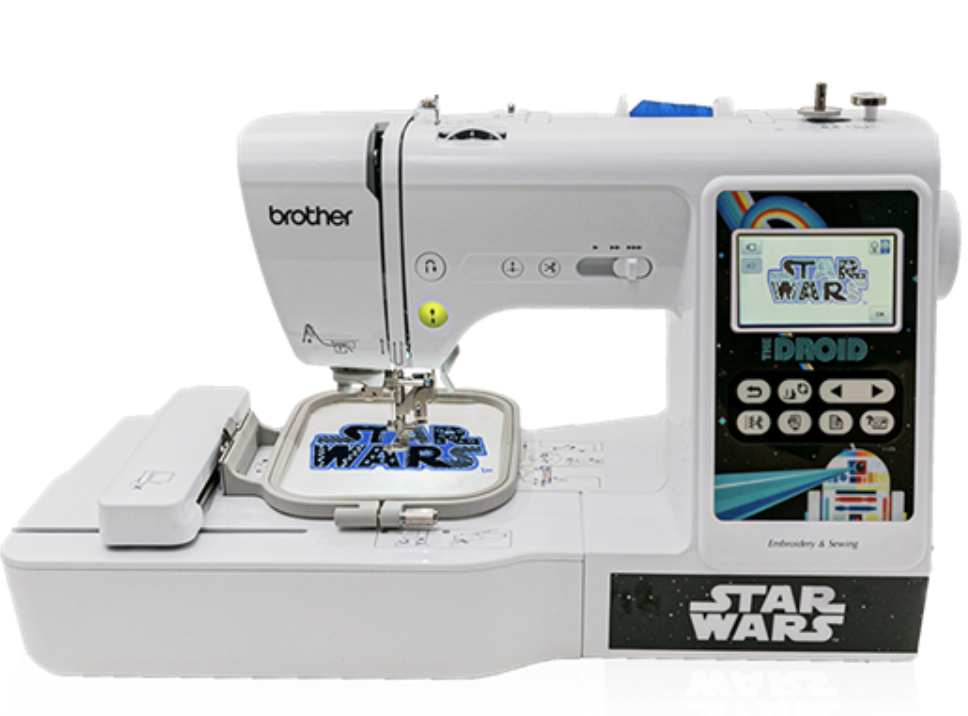 Brother Star Wars sewing machine edition