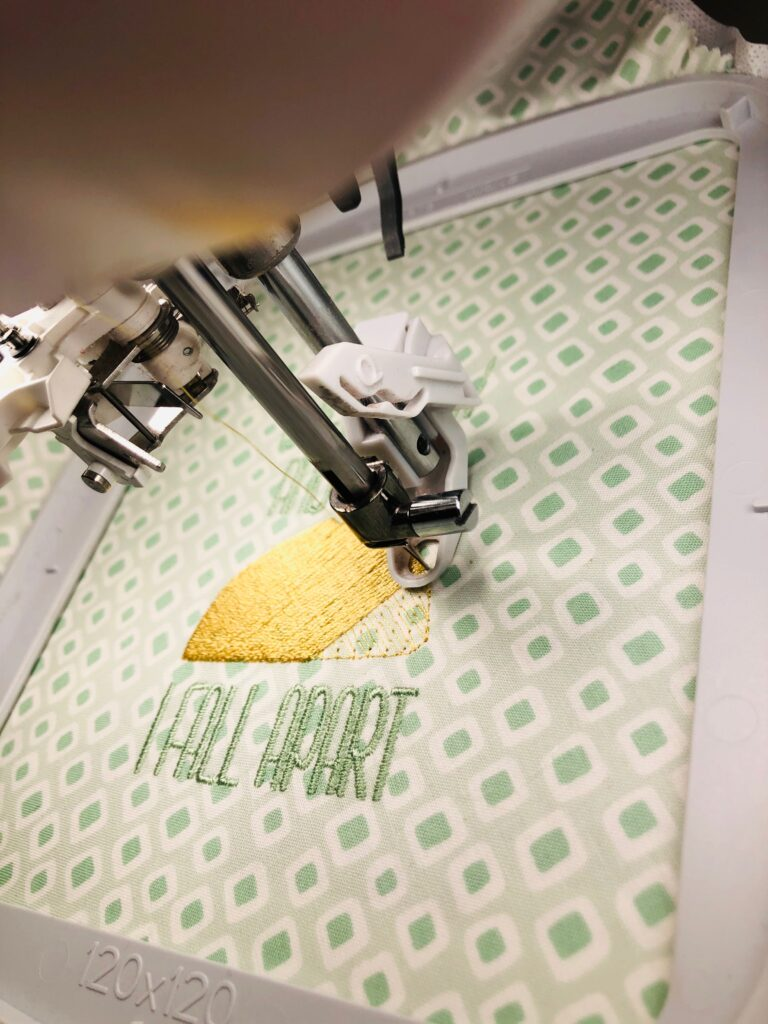 embroidering free potholder pattern piece