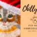 fur machine embroidery design