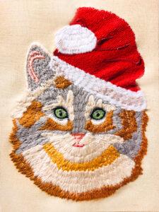 fur design not brushed