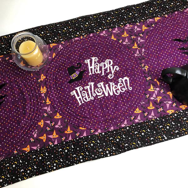 Happy Halloween Table Runner Kit