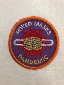sewed masks patch