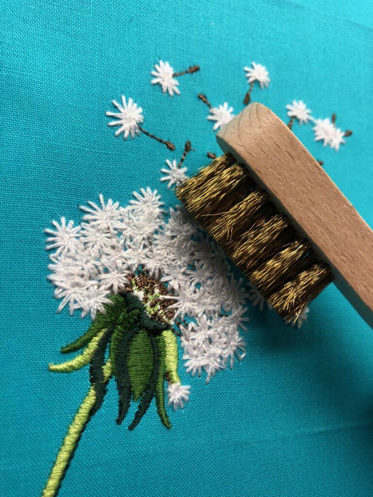 dandelion brushed