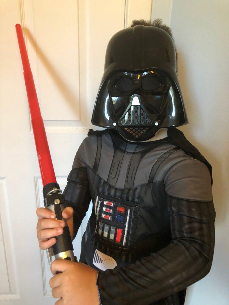Reflective Darth Vader Costume